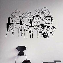 wZUN Ghostbusters Vinyl Aufkleber Animierte Serie