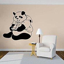 wZUN Panda Spielspiel Aufkleber Wandaufkleber