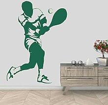 wZUN Starke Männer Spielen Tennis Vorhand