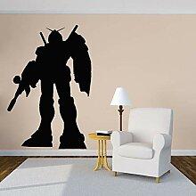 wZUN Vinyl Riesen Super Roboter Cartoon Aufkleber