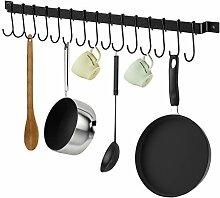 X-Chef Küchenleiste mit S-Haken Pack of 1 (15