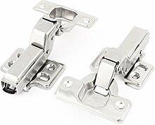X-Dr Edelstahl 23mm Tasse Vollaufschlagendämpfer