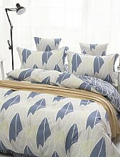 X&L 4pc Art und Weise gut Polyester Bettbezug-Set entworfen, Queen-Size , queen