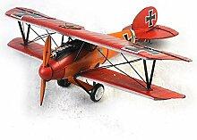X&L Antike haben die alten 1917 rot Flugzeug Heimtextilien Café-Bar Dekoration , 44.5*36.5*14.5