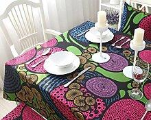 X&L Cotton Restaurant Tischdecke Tetabellentuch Multituchtuch für zu Hause sammeln Hotelrestaurant , 140*170