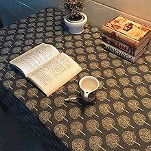 X&L Europäische kleine frische Tischdecke Couchtisch Tuch Mehrzweckdeckstoff für zu Hause Restaurant Hotel Party , 140*180cm