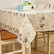 X&L Korean Baumwolle Leinentuch Tischtuch Tetabellentuch Tischdecke für die Party zu Hause Party Picknick , 70*70