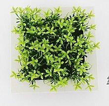 X&L Kreative Simulation Pflanze Blume Bilderrahmen Wanddekoration zu Hause Hotelrestaurant dekorative Geschenke (8 #) , 7b