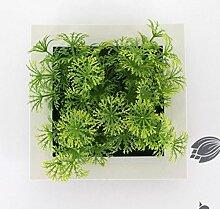 X&L Kreative Simulation Pflanze Blume Bilderrahmen Wanddekoration zu Hause Hotelrestaurant dekorative Geschenke (5 #) , 3b