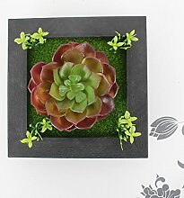X&L Kreative Simulation Pflanze Blume Bilderrahmen Wanddekoration zu Hause Hotelrestaurant dekorative Geschenke (# 20) , 20b