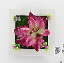 X&L Kreative Simulation Pflanze Blume Bilderrahmen Wanddekoration zu Hause Hotelrestaurant dekorative Geschenke (22 # 23 #) , 23b