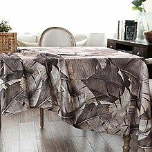 X&L Land Pastoral Stil Tischdecke Tischdecke Kaffeetischdecke geeignet für ein Familientreffen Restaurant , 60*60cm