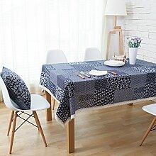 X&L Land Patchwork Tischdecke Stoff China Decke Tischdecke für Partei-Hotel Home Picknick Bankett , 140*140cm