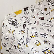X&L Pastoral Baumwolle Leinen Tetabellentuch Tischdecke Mehrzweckdeckstoff für zu Hause Restaurant Hotel Party , 140*220cm