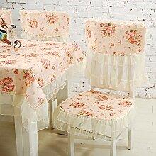 X&L Pastoral Tischtuch Tischdecken elektrische Staubabdeckung für Party-Hotel zu Hause Picknick Bankett , 100*100cm