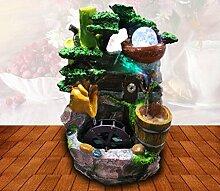 X&L Resin Handwerk rockery Wasser kreative Hauptdekoration Luftbefeuchter (20CM * 6cm * 34cm) , 20cm*5.9cm*34.5c