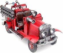 X&L Retro Feuerwehrwagen Heimtextilien dekorative Handwerk / Fotografie Requisiten Geschenke , mkf8006