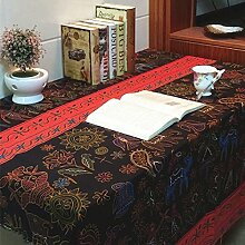 X&L Thai Farbe Baumwolle Leinentuch Tischdecke Tischdecke für Hauptpartei Restaurant Restaurant , 140*140cm