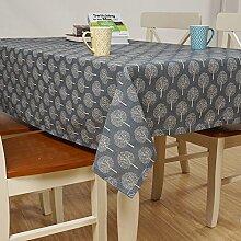 X&L Tischdecke Tischdecke aus Baumwolle Leinen Couchtisch Tuchabdeckung Handtuch Picknicktisch Picknicktisch , A , 70*70