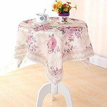 X&L Tischdecken Staub als Handtücher Handtücher für Hotel Picknick Bankett , flax peony , 50*50