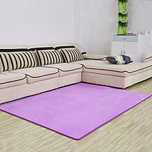X&Y X&YDie Tür Eingang Wohnzimmer Teppich Korallen Samt Teppich Teppich Bett vorne Schlafzimmer Teppich , 80*160cm , b