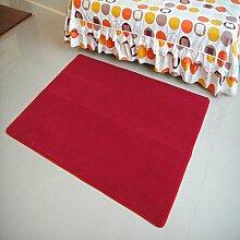 X&Y X&YDie Tür Eingang Wohnzimmer Teppich Korallen Samt Teppich Teppich Bett vorne Schlafzimmer Teppich , 80*200cm , g