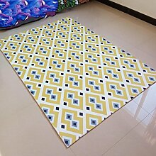 X&Y X&YWohnzimmer Schlafzimmer Kaffetisch Teppich Matten Gang Bay Fenster Die Tür Eingang Geriebene Füße Osmanen , 40*60cm , e