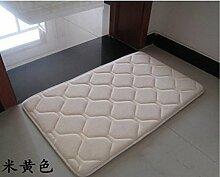 XAIOJIBA Teppich Teppich Memory-Schaum-mat Bad Und