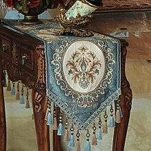 XAIOJIBA Tischdecke Decke/europ?ischen Blauen