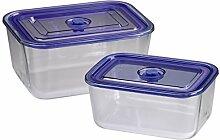 Xavax Auflaufform/Frischhaltedosen aus Glas