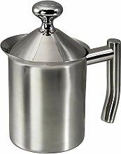 Xavax Milchaufschäumer, 400 ml, Edelstahl, Milk
