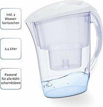 Xavax Tisch-Wasserfilter inkl. 2 Filterkartuschen,
