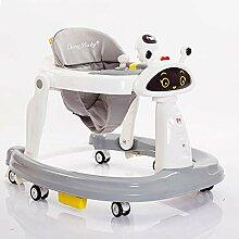 XBCOOK Lauflernhilfe, 2 in 1 Baby Gehhilfe mit
