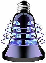 XBRMMM Bug Zapper Glühbirne, 2 in 1 elektronische