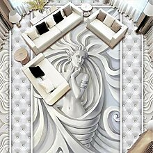 Xbwy Europäischen Stil 3D Geprägte Skulptur
