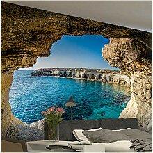 Xbwy Fototapete Moderne Einfache Höhle Seestück