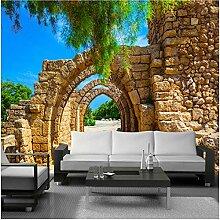 Xbwy Fototapete Stereoscopic Arches Brick