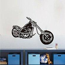 Xbwy Motorrad Wandaufkleber Für Kinderzimmer