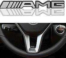 XCBW AMG Logo 3D Zinklegierung Lenkrad