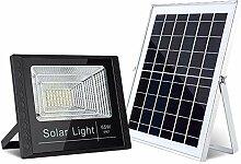 XCCV Solar-Außenleuchte, Solar-Flutlicht,