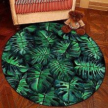 XCDT Teppich 3D Runder Teppich Für Wohnzimmer