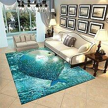 XCDT Teppich Teppich Für Wohnzimmer Fußmatte