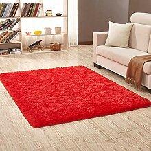 XCDT Teppich Teppiche Roter Teppich Dicker Bad