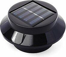 Xcellent Global 2er Pack 3 LED Solarbetrieben