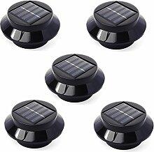 Xcellent Global 5er Pack 3 LED Solarlichter