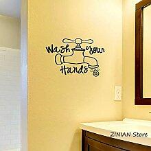 XCSJX Händewaschen (mit Seife) Badezimmer