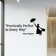 XCSJX Schöne Praxis Perfekte Wandkunst Aufkleber