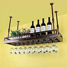 xczdf Decke Weinregale Eisen Weinglas Rack Becher