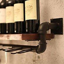 xczdf Weinregal Wandbehang für Bar Weinschrank