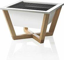 XD Design P422.213 Nido Grill, 35 x 35 x 23,5 cm, weiß